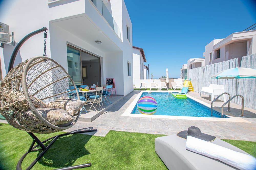 Vila Desain, 3 kamar tidur, kolam renang pribadi - Kolam renang pribadi