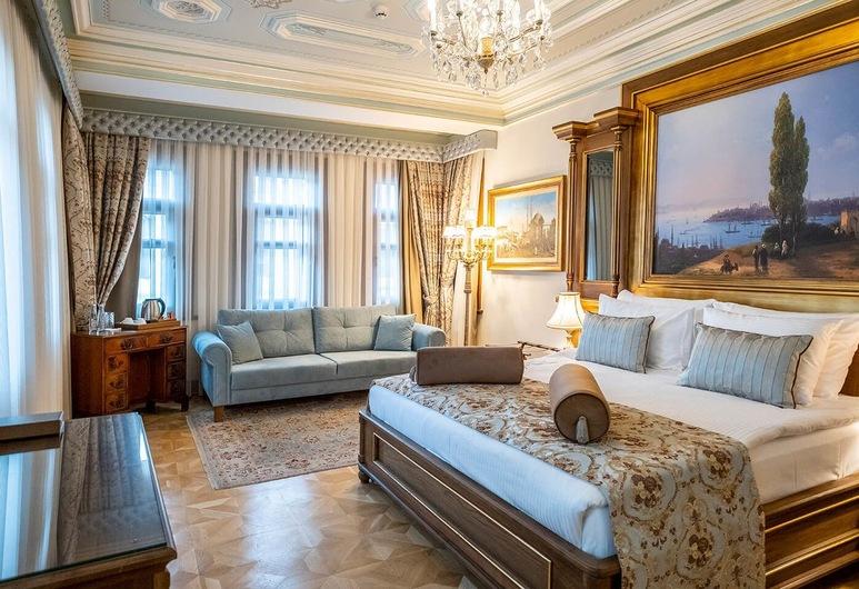 Ortakoy Hotel, Stambulas, Liukso klasės dvivietis kambarys, Svečių kambarys