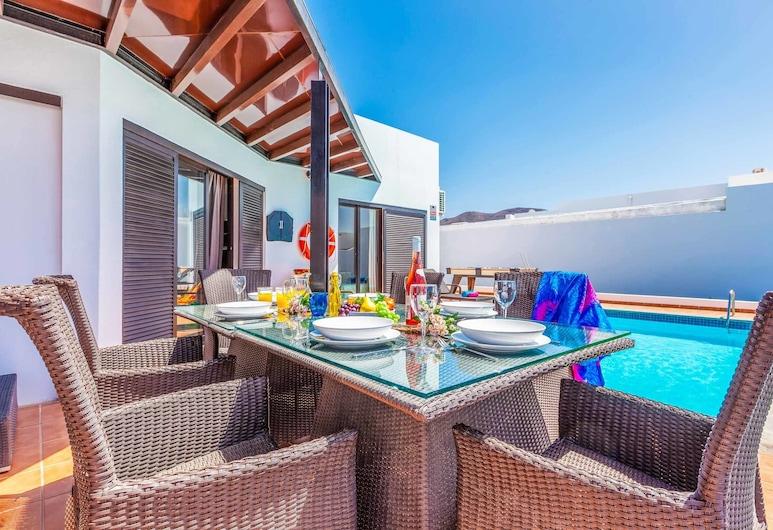 Villa Zafrino, Yaiza, Villa, 3 slaapkamers, privézwembad, Terras