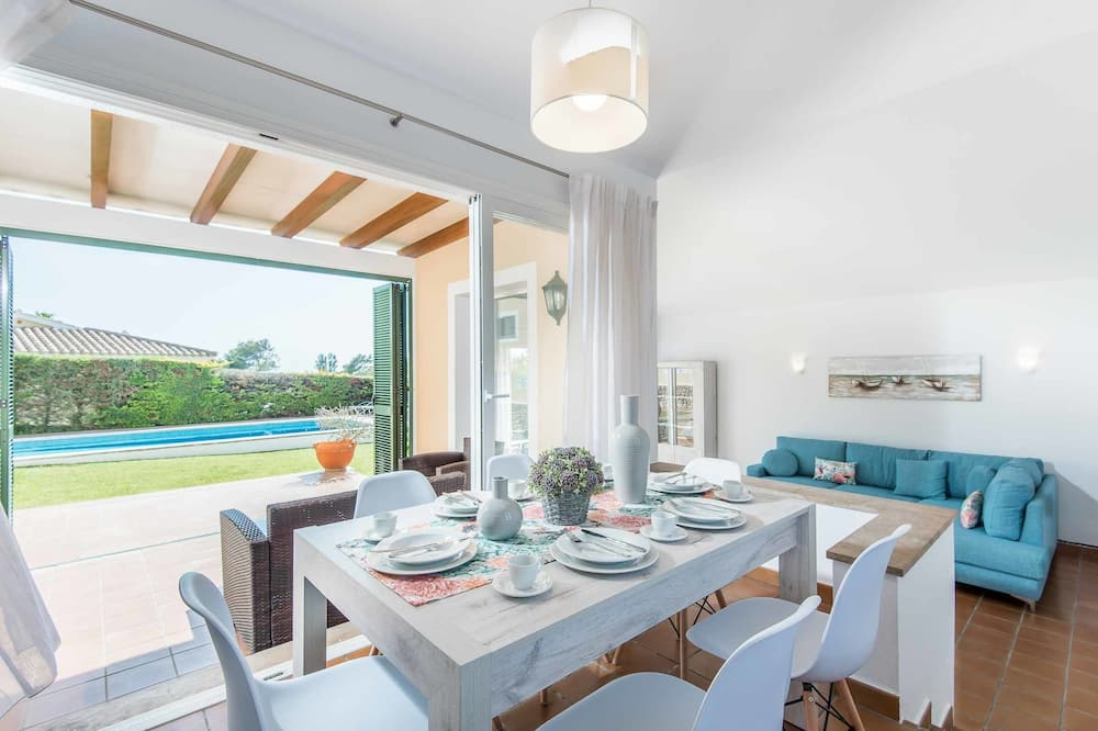Villa, trīs guļamistabas, privāts baseins - Numura ēdamzona
