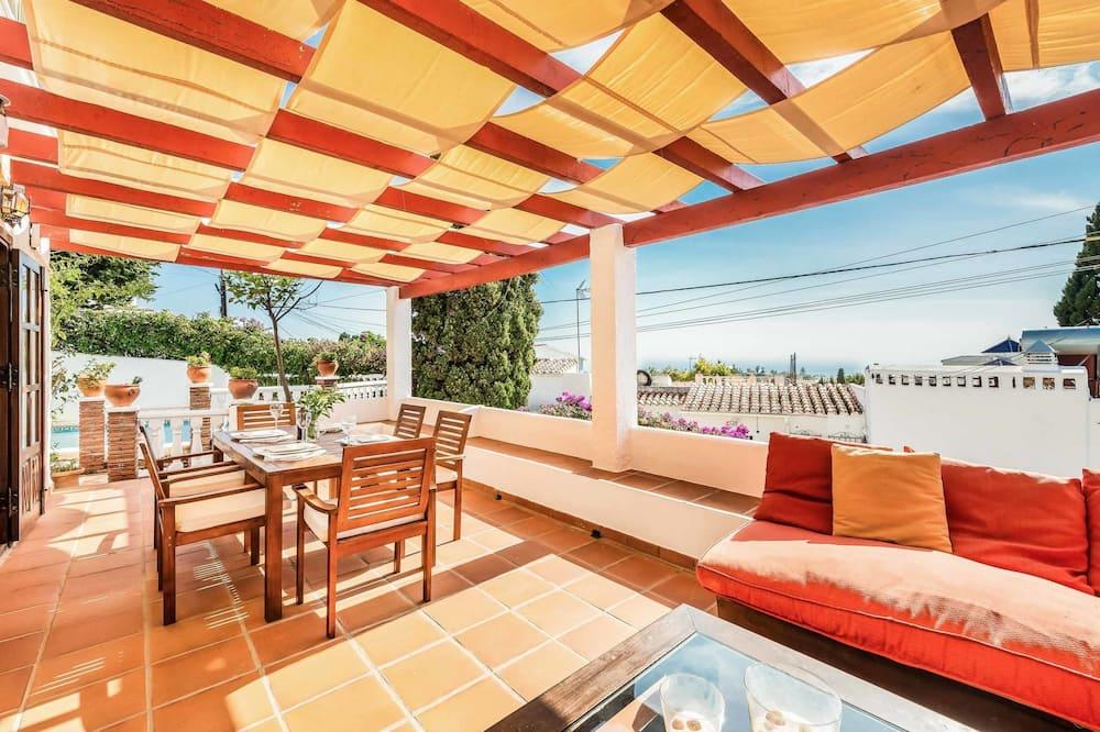 Vila, 3 spavaće sobe, privatni bazen - Terasa/trijem