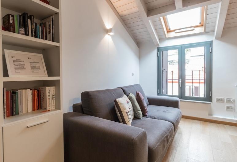 Italianway - Savona 108, Milaan, Appartement, 1 slaapkamer, Woonruimte