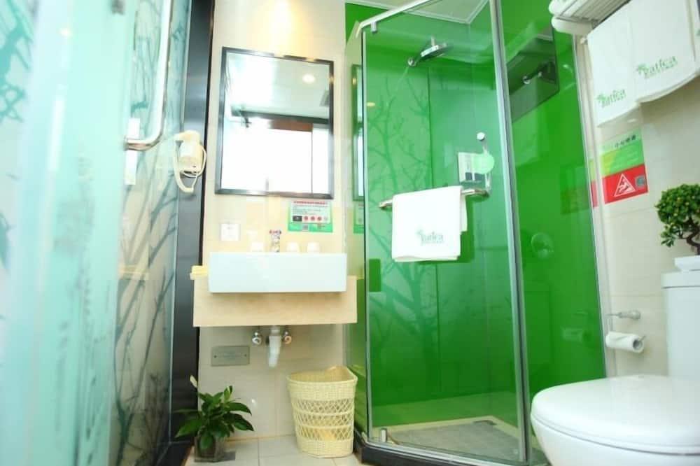 Quarto, 1 cama queen-size - Casa de banho
