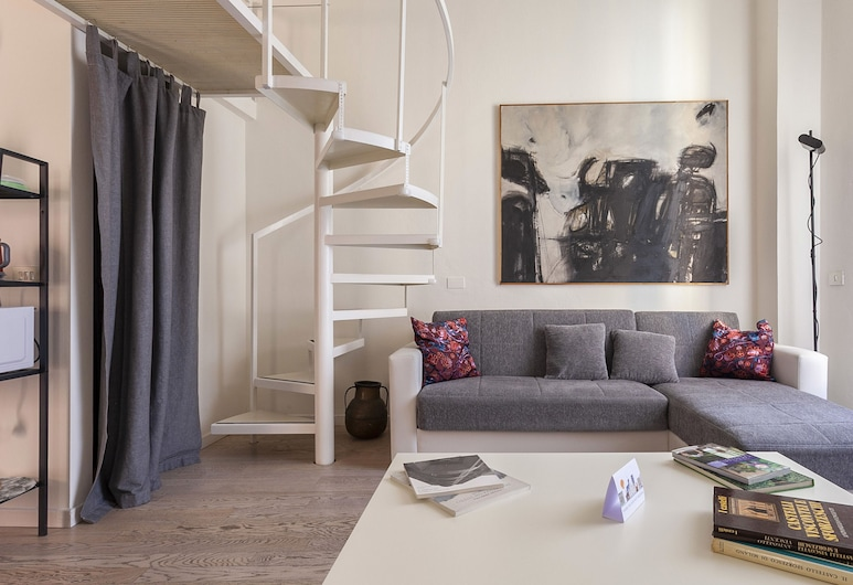 Italianway - Ripa Ticinese 17, Μιλάνο, Διαμέρισμα, 1 Υπνοδωμάτιο, Περιοχή καθιστικού