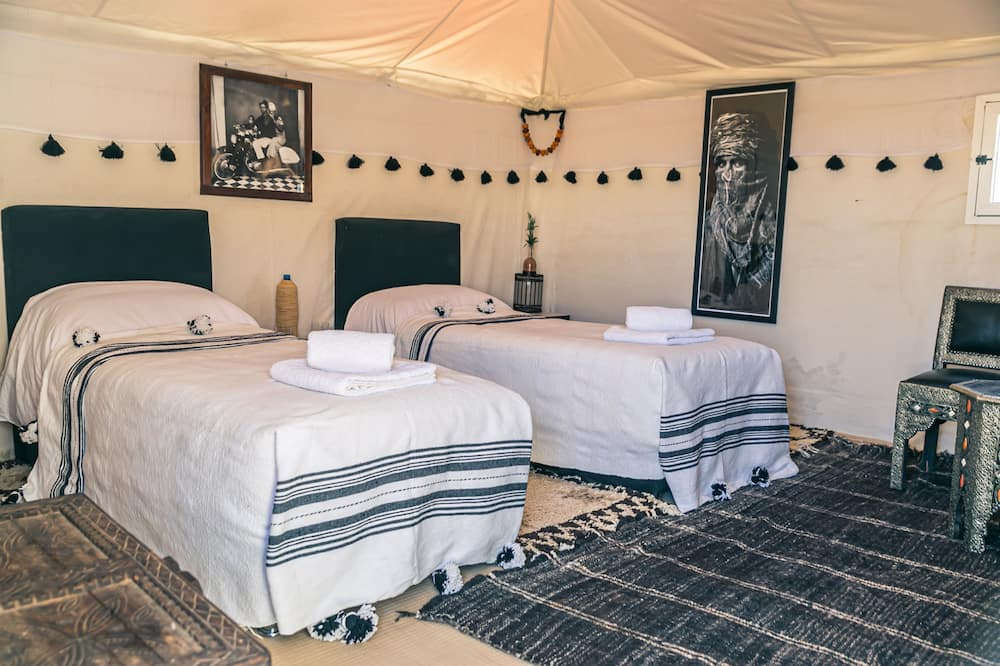 Namiot luksusowy (Twin) - Powierzchnia mieszkalna