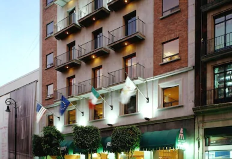 Hotel Catedral, Mexico City, Hotel Front – Evening/Night