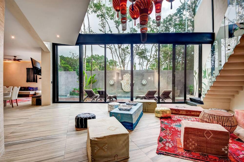Villa estándar, 5 habitaciones, para no fumadores - Sala de estar