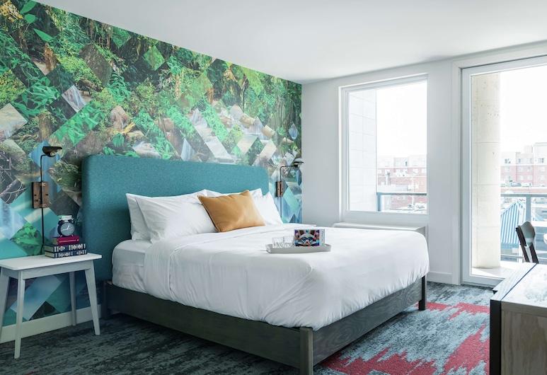 Canvas Moncton, Tapestry Collection by Hilton, Moncton, Tuba, 1 ülilai voodi, Vaade toast
