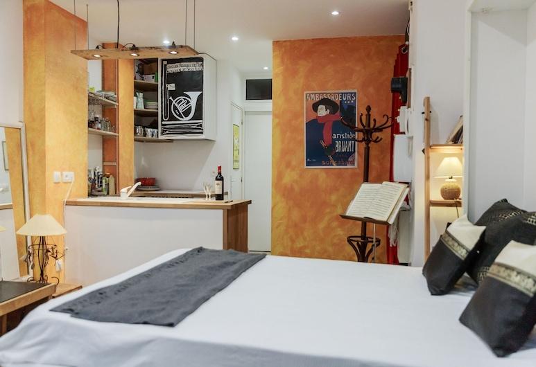 Montmartre Apartments - Chagall, Paris, Apartment, Private Bathroom, Lounge