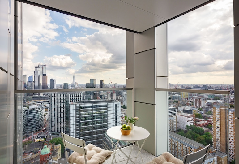 Atlas Serviced Apartment, London, Luxury Apartment, Balcony