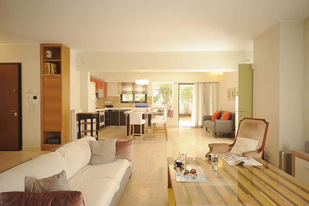 Apartamento família, 2 quartos, para não fumantes, Cozinha - Área de estar