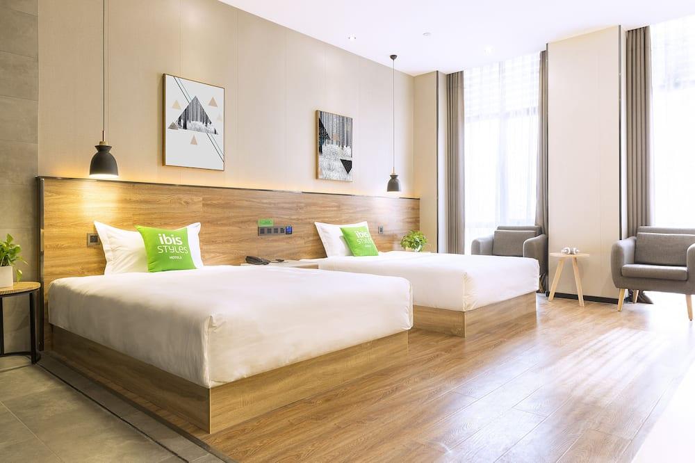 חדר ביזנס טווין, 2 מיטות יחיד - חדר אורחים