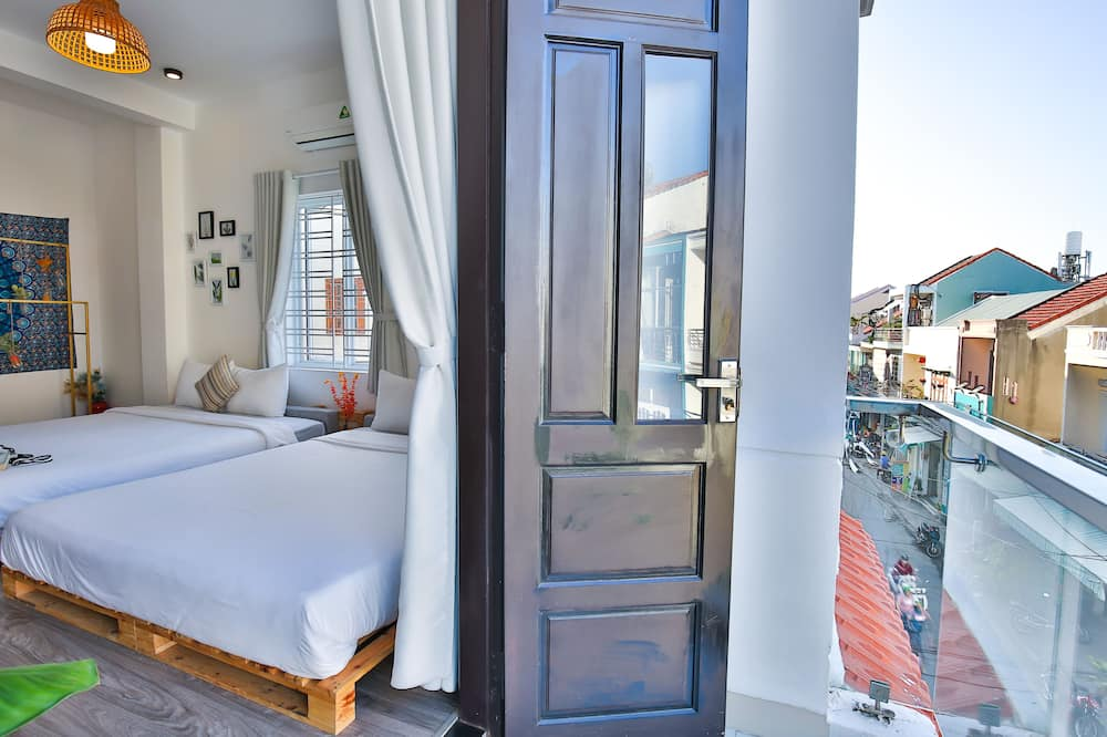 Obiteljska soba (Pallet F) - Balkon