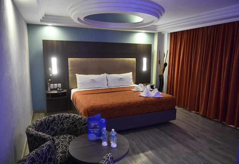 Hotel Atizapan, Atizapan de Zaragoza, Camera Superior, 1 letto king, Vista dalla camera