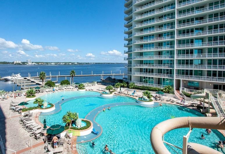 Poolside Condo With Bay Views - Unit Crc0309, Pantai Orange , Bahagian Luar