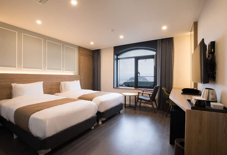卡薩洛瑪飯店, 西歸浦, 標準雙床房, 客房