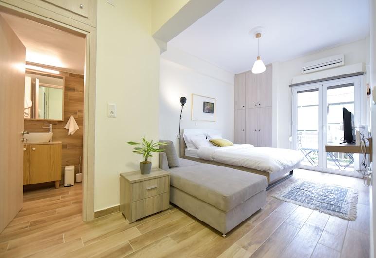 Live As A Greek in Artemis Apartment, Atény, Apartmán, Obývacie priestory