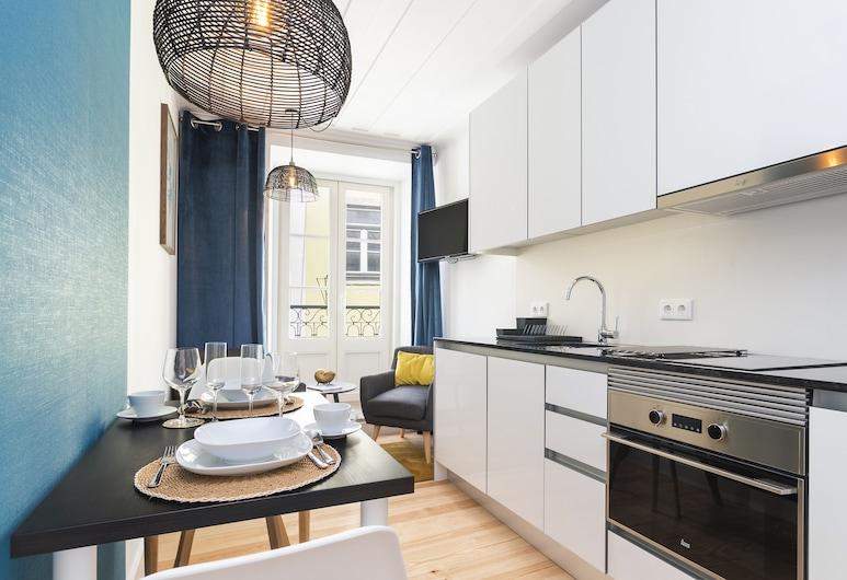 Lisbon Bica Suites, Lissabon, City-Apartment, 1 Schlafzimmer (3E), Wohnbereich