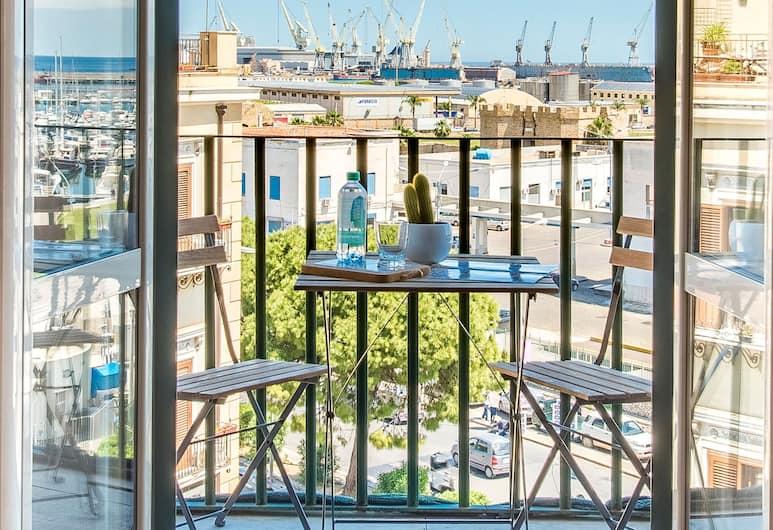 Vista mare sulla Cala by Wonderful Italy, Palermo, Appartamento, 1 camera da letto, Vista dalla camera
