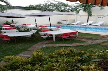 Mynd af Residence Divine Palace  í Abidjan