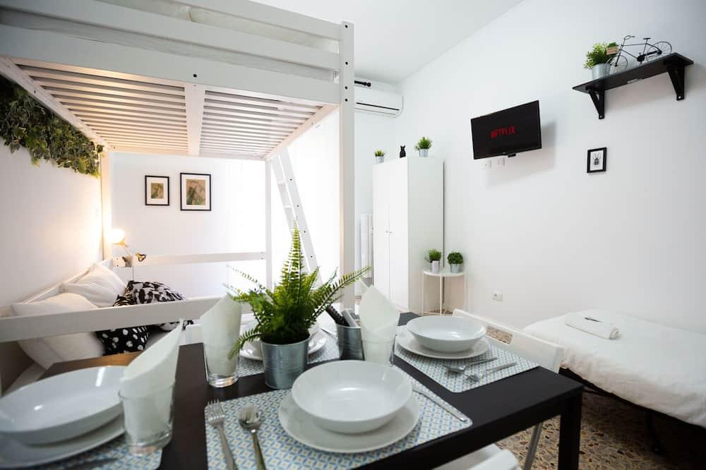 Appartamento, 1 camera da letto - Pasti in camera