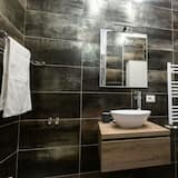 Apartman, 1 spavaća soba - Umivaonik u kupaonici