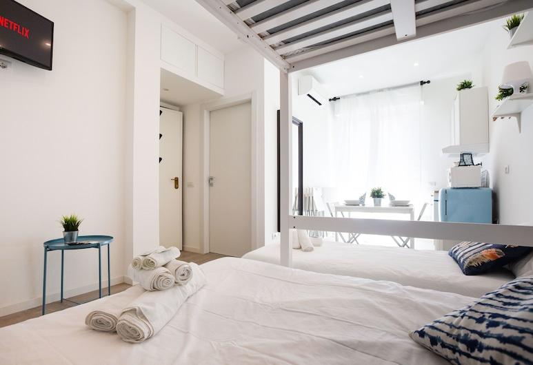 Home Hotel - Padova 151, Milaan, Studio, 1 slaapkamer, Balkon (Emera), Kamer
