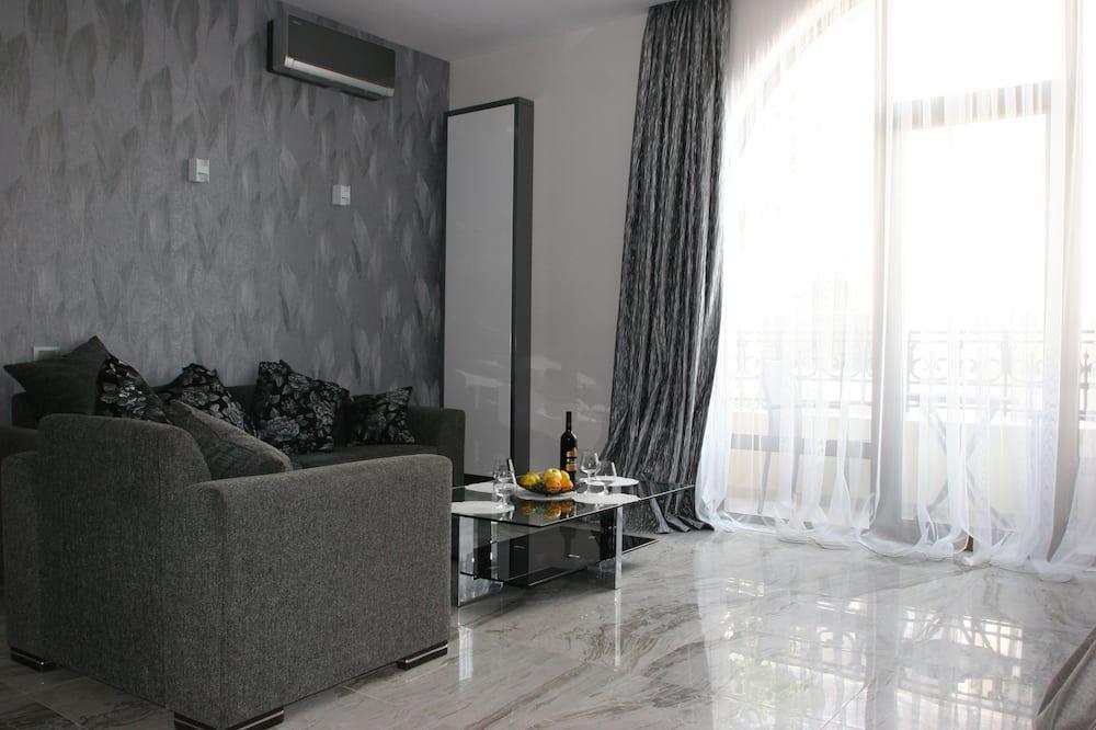 Студия-люкс - Зона гостиной