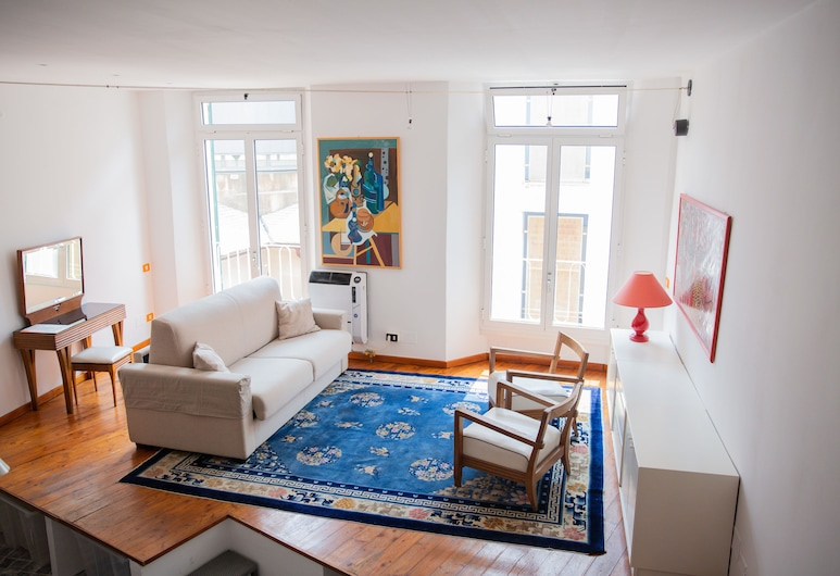 Casa Otto nel cuore di Genova, Genova, Appartement, 1 slaapkamer, Woonkamer