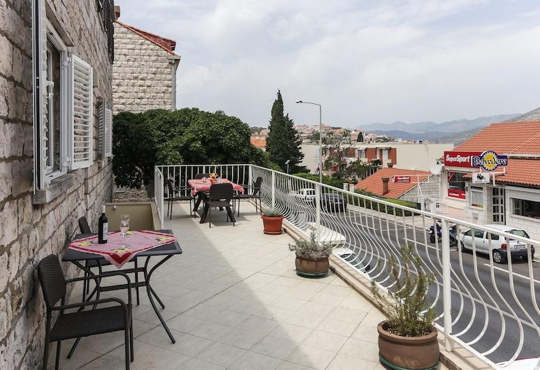 Apartments Sisic, Dubrovnik, Apart Daire (Two Bedroom Apartment with Terrace), Teras/Veranda