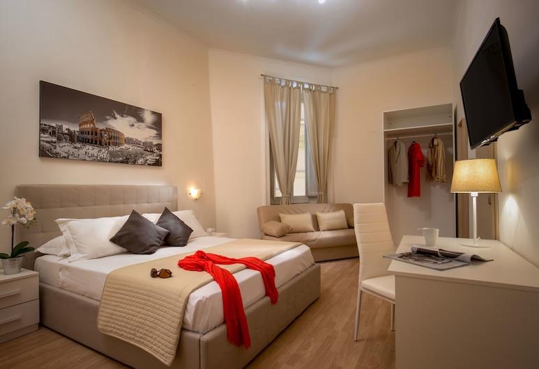科里納酒店 48, 羅馬, 標準三人房, 客房