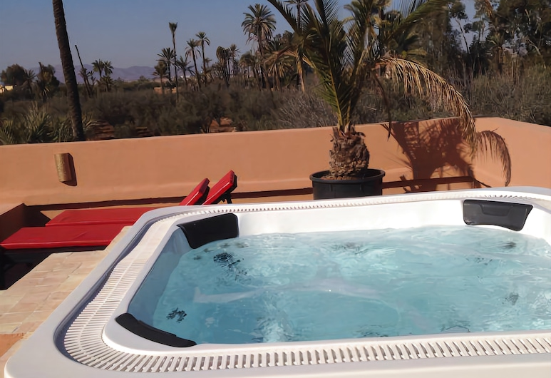 Eden Lodges, Marrakech, Massaaživann vabas õhus