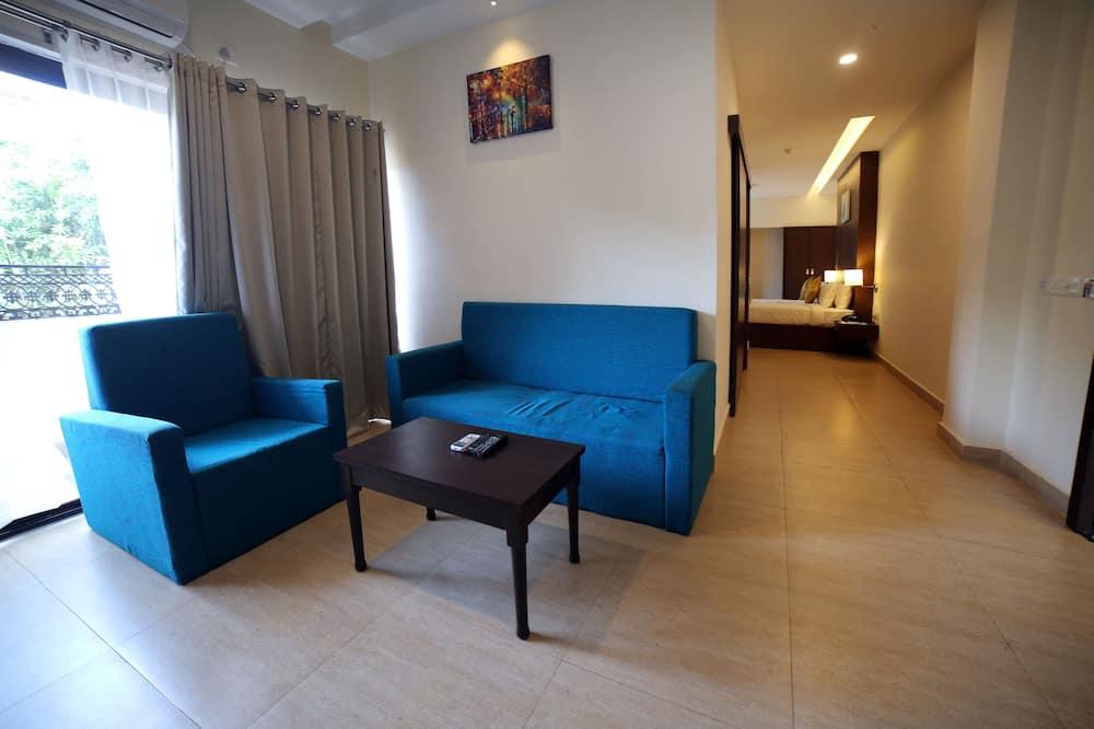 Executive-dobbeltværelse - Opholdsområde