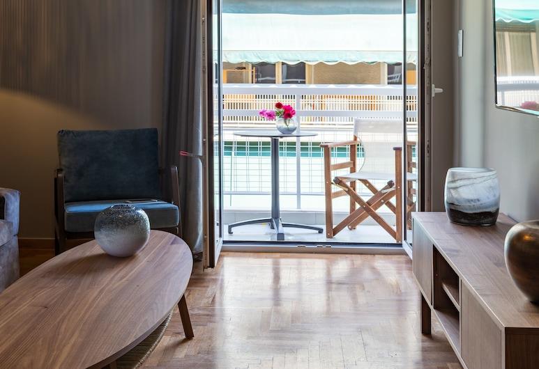 Finesse Luxury Flat, Atenas, Apartamento, 2 quartos, Área de estar