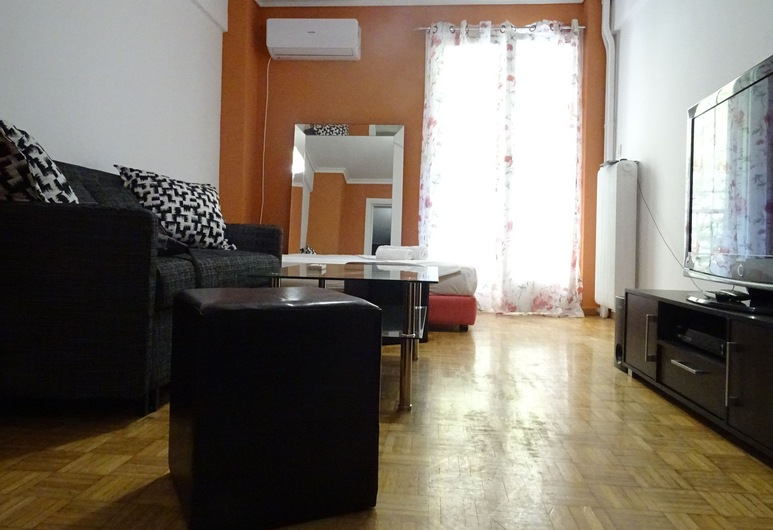 다운 타운 컴포트 아파트먼트, 아테네, 아파트, 침실 2개, 거실