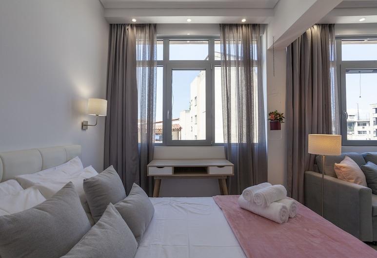 Feidias Luxury Flat Psyrri Square, Athens, Apartment, Bilik