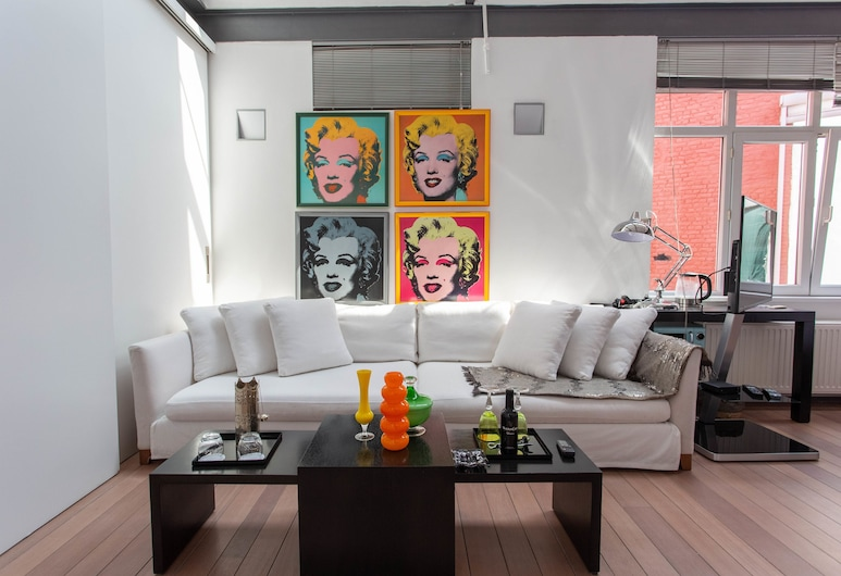 les lofts d'artistes, BRUSEL, Dvojlôžková izba typu Superior, Hosťovská izba