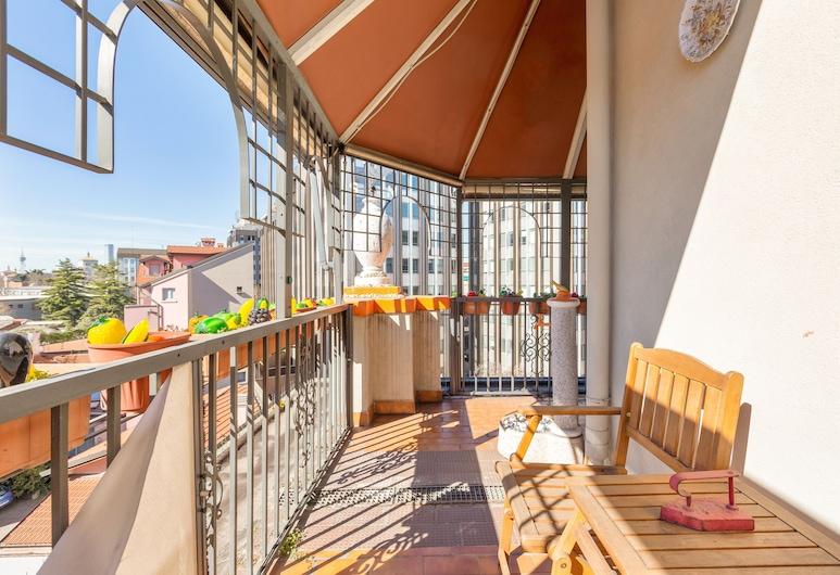 Isola Terrace Naif Apartment, Milano, Appartamento, 2 camere da letto, non fumatori, Terrazza/Patio