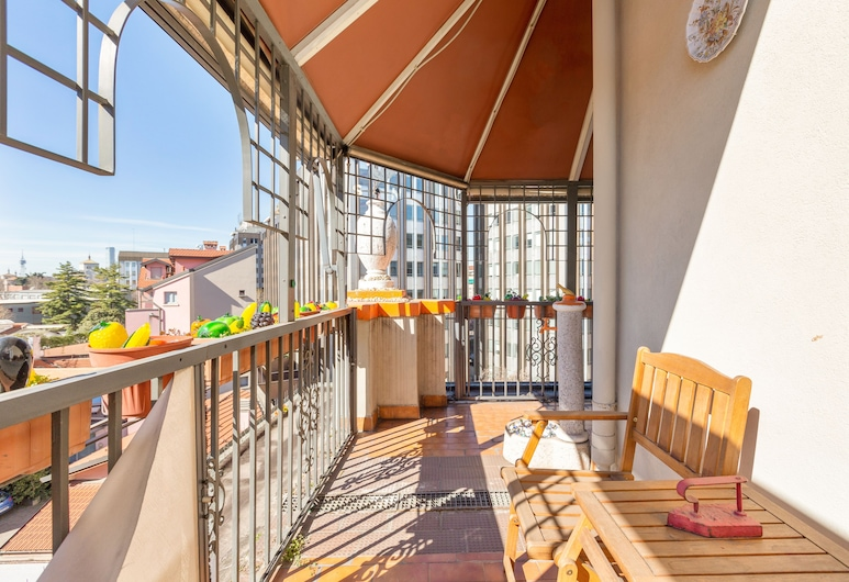 Isola Terrace Naif Apartment, Milan, Apartment, 2 Bedrooms, Non Smoking, Terrace/Patio