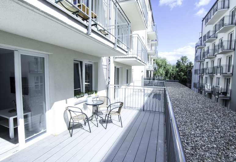 Baltic Apartments - Bałtyk 6/2, Swinoujscie, City appartement, Terras