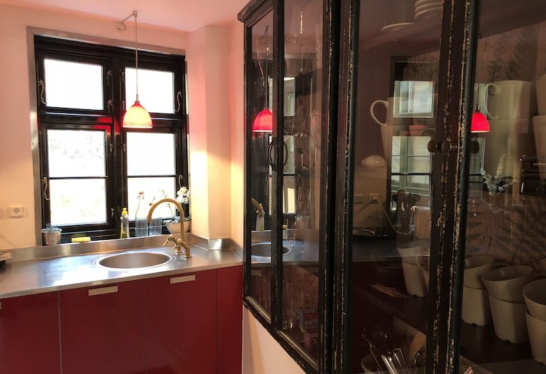 哥本哈根最佳住宿酒店 - 尼阿德尔加德 7 号, 哥本哈根, 公寓, 2 间卧室, 无烟房, 私人厨房