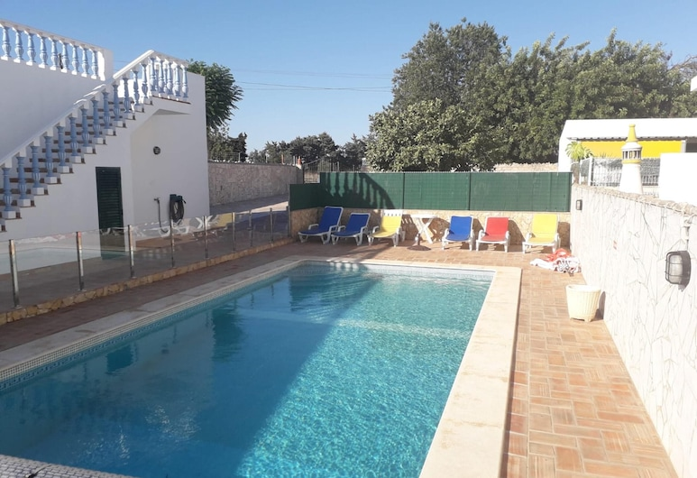 House With 3 Bedrooms in Vila Nova de Cacela, With Pool Access, Enclosed Garden and Wifi - 1 km From the Beach, Vila Real Santo Antonio, Svømmebasseng