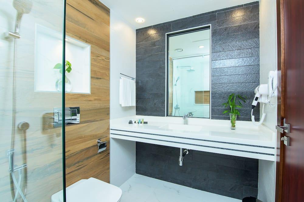 ห้องดีลักซ์ซิงเกิล - ห้องน้ำ