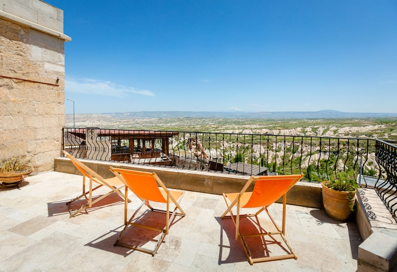 Lava Cappadocia Cave Hotel , Nevsehir, Basic Double or Twin Room, Valley View, Terrace/Patio