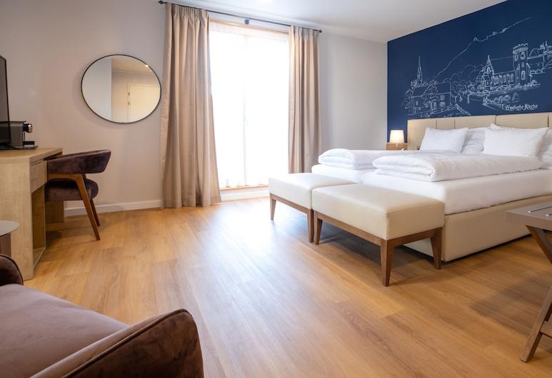 Boutique Hotel Ochsen, באד ראגאץ, חדר דה-לוקס זוגי, חדר אורחים
