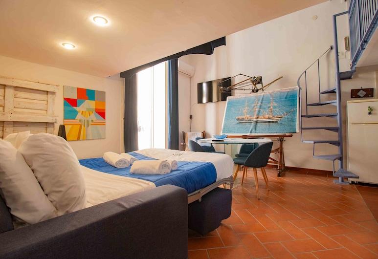 Carafa's Central Apartments, Napoli, Leilighet, Gjesterom