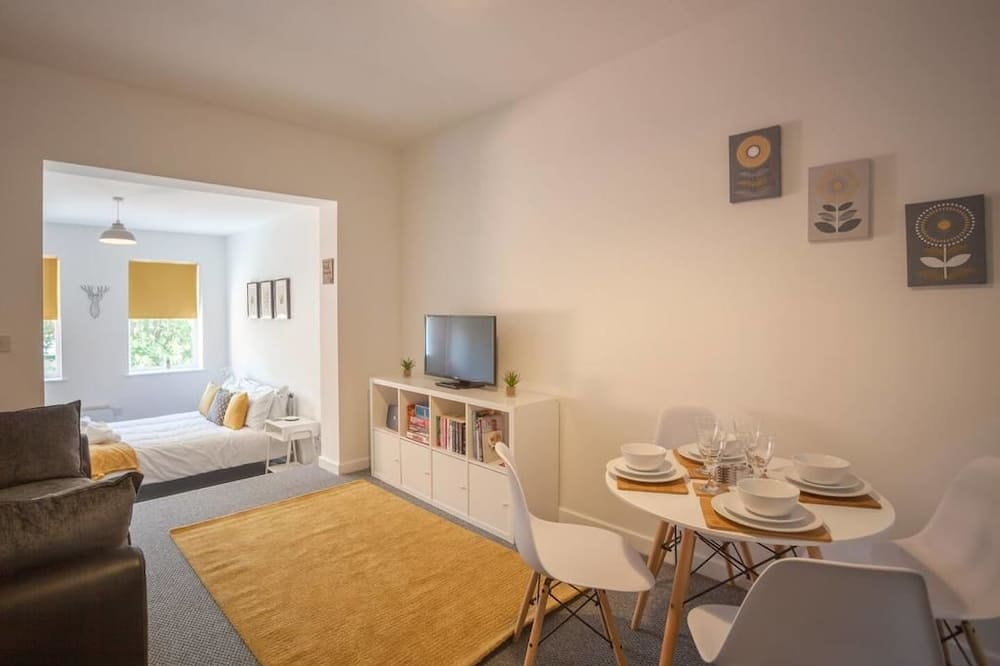 Apartmán - Obývací prostor