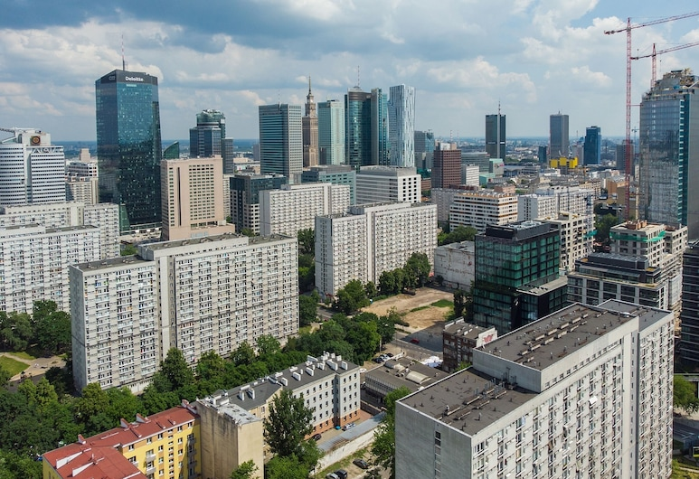 ShortStayPoland Grzybowska B73, Warszawa, Utsikt från luften