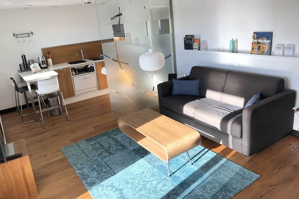 Comfort-Apartment (on top of the rate cleaning Fee 60 EUR) - Wohnzimmer