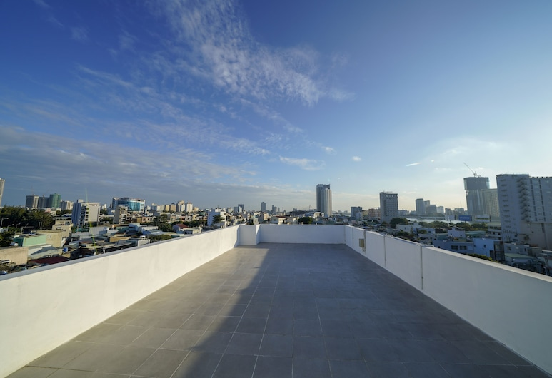 Lento Hotel and Apartment, Дананг, Терраса/ патио